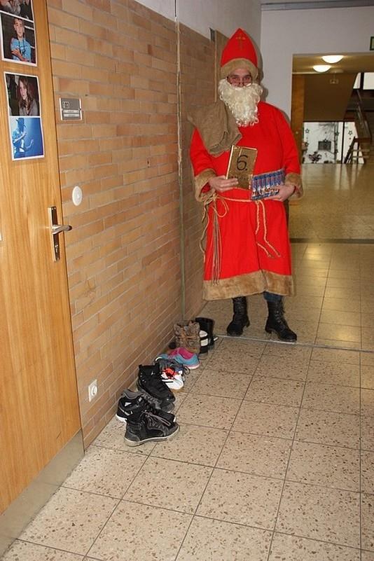 Der Nikolaus in Aktion