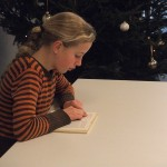 Johanna beim Vorlesen