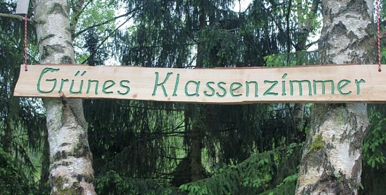 """DAS """"GRÜNE KLASSENZIMMER"""" DES BZN"""