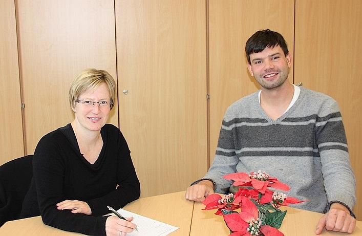 Frau Meinikheim und Herr Jänicke