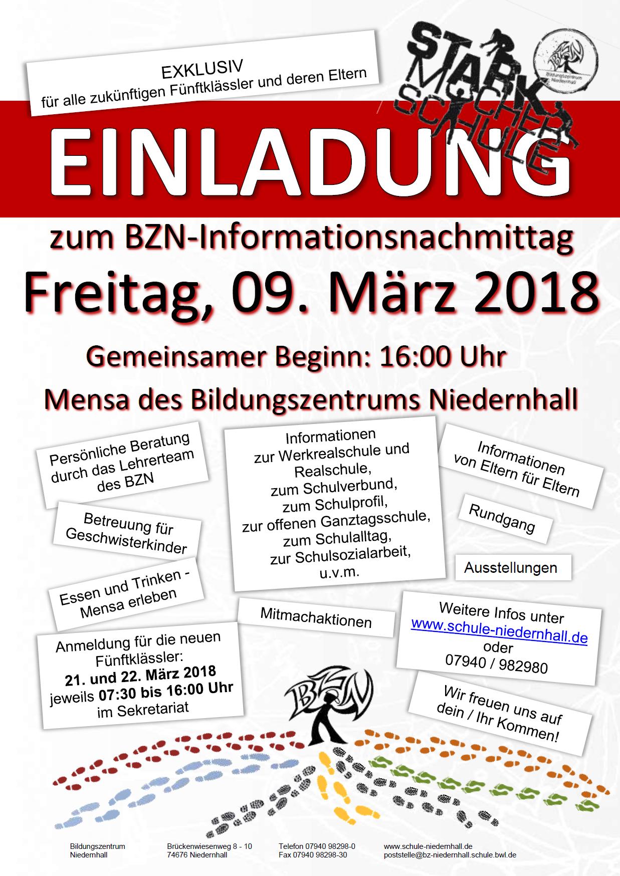 Einladung Informationstag