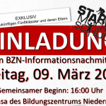 Einladung Informationstaglllll