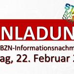 Infonachmittag Homepage