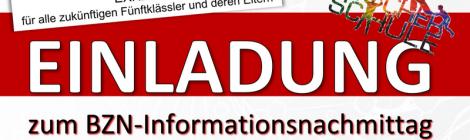 INFORMATIONSNACHMITTAG